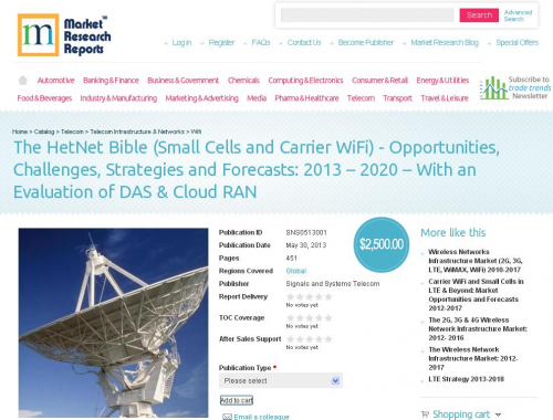 The HetNet Bible (Small Cells and Carrier WiFi)'