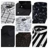 Men's Black Color Plain & Stylish Cotton Shirt   Italiancrown