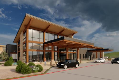 Intermountain Park City Surgery Center Rendering'