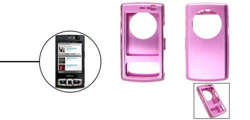 Nokia N95 Aluminium Case pink'