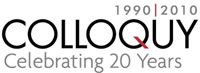 Logo for COLLOQUY'