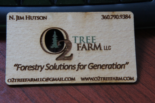Free Wooden Business Cards'