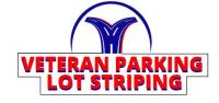 Veteran Parking Lot Striping Logo