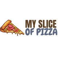 My Slice Of Pizza Logo