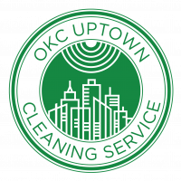 OKC Uptown Cleaning Services Logo
