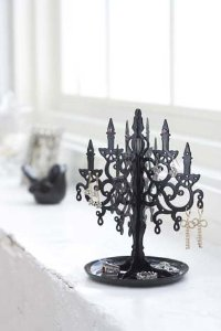 Metal Chandelier Stand Tree for Jewelry and Accessories'
