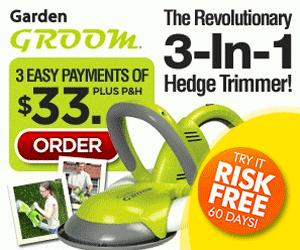 Garden Groom Hedge Trimmer As Seen on TV Canada'