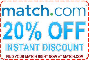 match.com promo code'