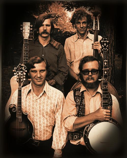 Skookil Express bluegrass band photo'