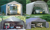 portable garages shelters'