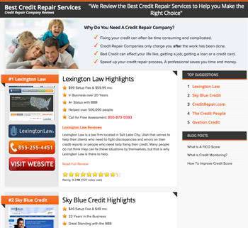 Best Credit Repair Services'