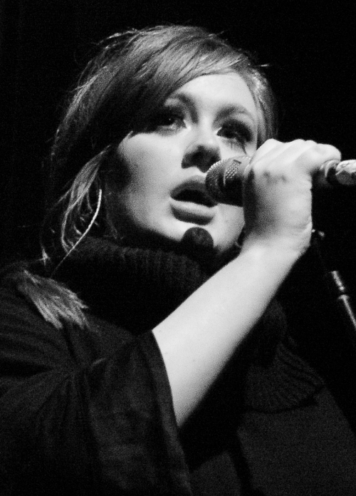 Adele in concert, January 2009'