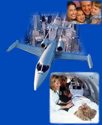 air ambulance'