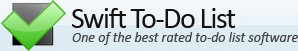 Swift To-Do List Logo'