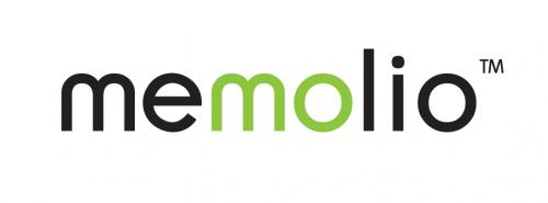 Logo for Memolio'