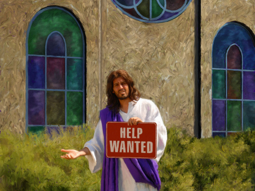 Help Wanted Jesus Christ'