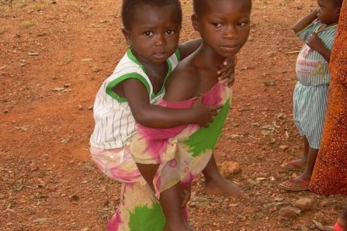 Village Health Center in West Africa'