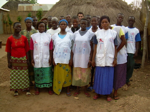 Village Health Center in West Africa'
