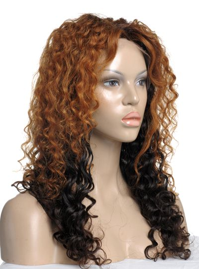rpg ombre human lace wig'