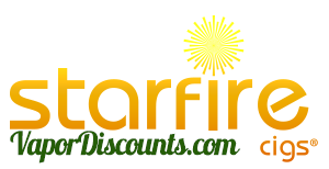 Starfire Cigs Logo - buystarfirecigs.com'