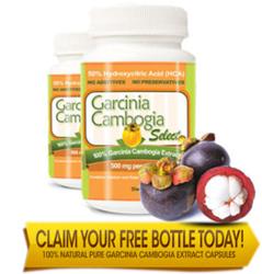 Garcinia Cambogia Bottle'