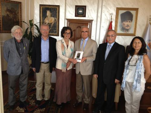 Dr. Davis joins the Turkish Governor'