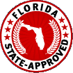 Logo for Florida Driving School'
