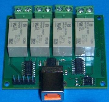 USB Latching 8 Amp Relay Module Model RSB2084'
