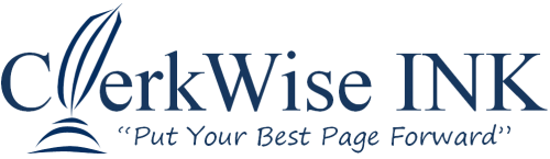 Company Logo For ClerkWise INK'