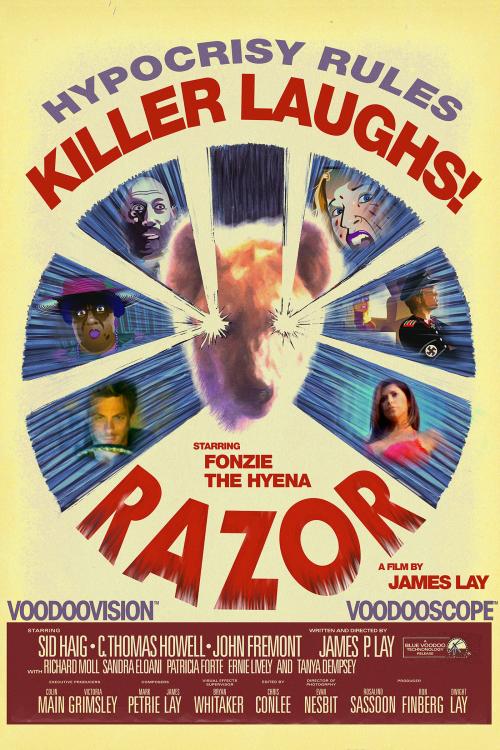 Razor - The Hypocrisy Eating Hyena'