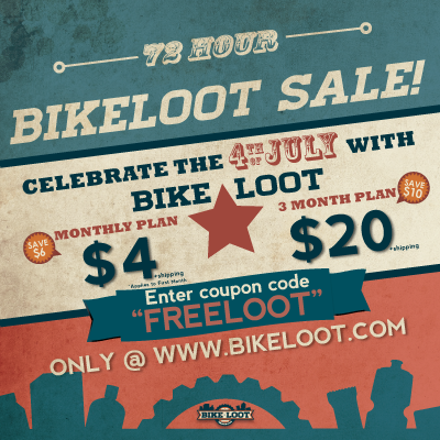BikeLoot Independance Day Sale