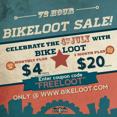 BikeLoot Independance Day Sale'