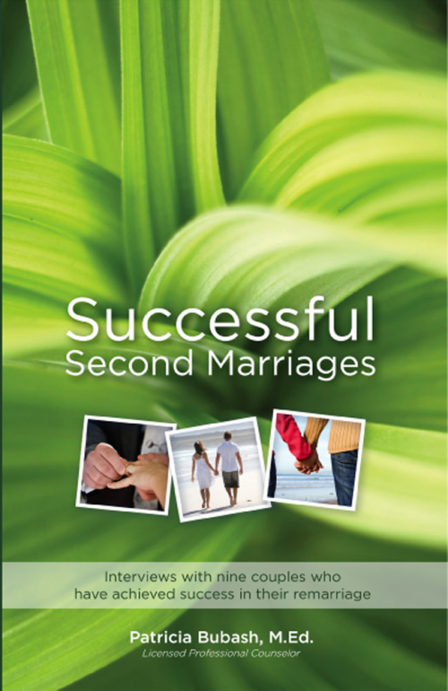 Successful Second Marriages Book Cover'