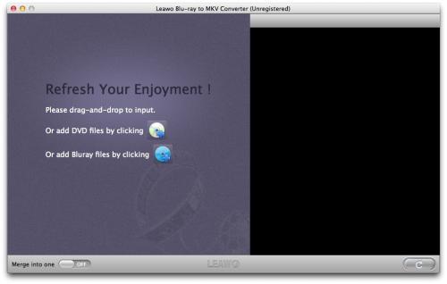 Leawo Blu-ray to MKV Converter for Mac'