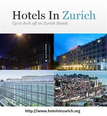hotels in zurich'