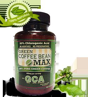 Green Coffee Bottle'