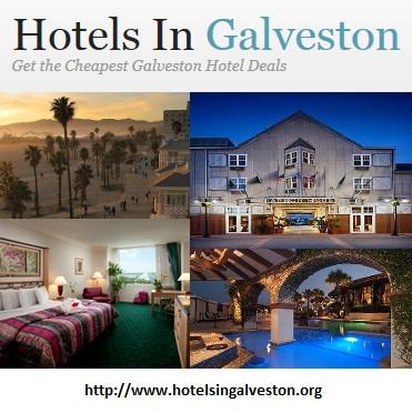 hotels in galveston'