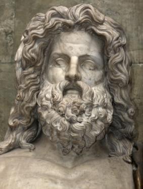 Roman God Jupiter'
