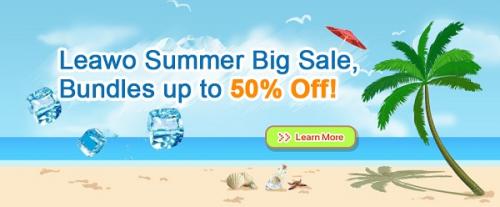 Leawo Summer Big Sale'