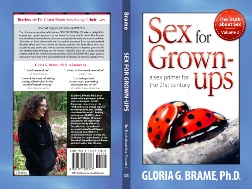 Truth About Sex Vol 2 by Gloria Brame'