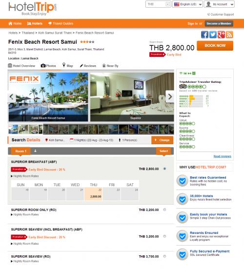 Fenix Beach Resort'