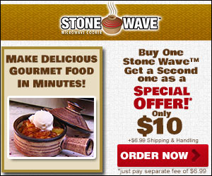 Stone Wave Microwave Cooker As Seen on TV'