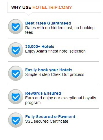 Get Lucky with HotelTrip.com'