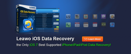 Leawo iOS Data Recovery Now Supports iOS 7'