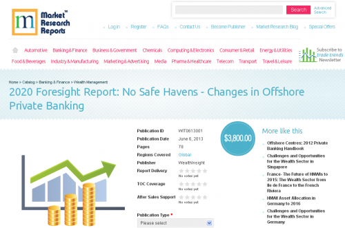 No Safe Havens - Changes in Offshore Private Banking'