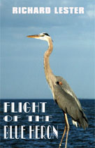 Flight of the Blue Heron - Book Cover'