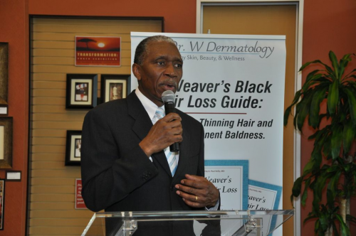 Dr. Seymour Weaver Speaking about Hair Loss'