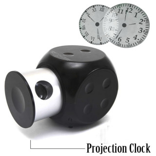 Ankaka Releases Cool Fashionable Dice Shaped Clock LED Proje'