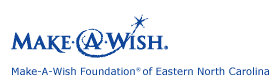 Make-A-Wish of Eastern North Carolina logo'