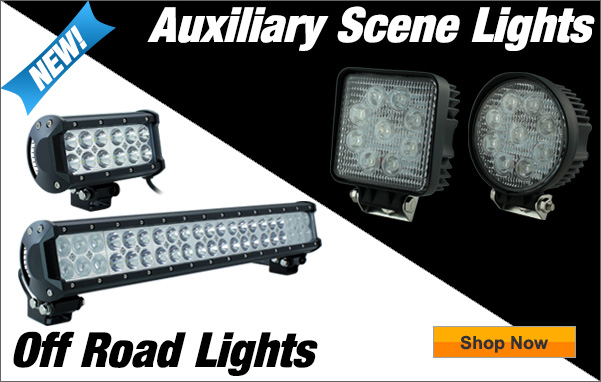 Auxiliary Scene Lights & Off Road Flood Lights